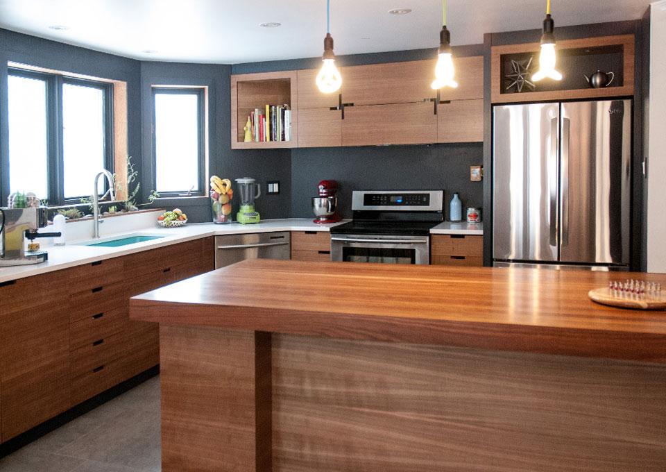 Champlain bromont cuisines multiplex for Placage cuisine